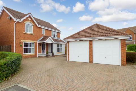 4 bedroom detached house for sale - Loxton Square, Cramlington, Northumberland, NE23 7XT