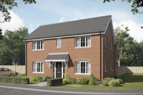 4 bedroom detached house for sale - Plot 284, The Rose at Horwood Gardens, Gartree Road, Oadby LE2