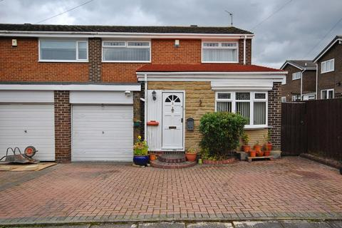 3 bedroom semi-detached house for sale - Etherley Close, Newton Hall, Durham