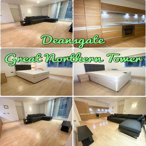 2 bedroom apartment to rent - Great Northern Tower, 1 Watson Street, Manchester