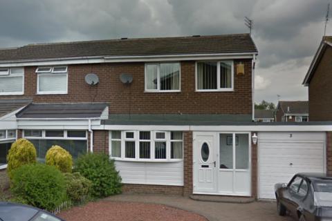 3 bedroom semi-detached house to rent - Abingdon Court, Newcastle upon Tyne