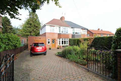 3 bedroom semi-detached house for sale - Middle Drive, Darras Hall, Newcastle Upon Tyne, Northumberland