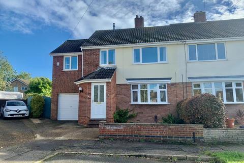 4 bedroom semi-detached house for sale - Abthorpe Avenue, Kingsthorpe, Northampton NN2 8NS