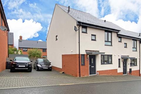 3 bedroom end of terrace house for sale - Old Quarry Drive, Exminster
