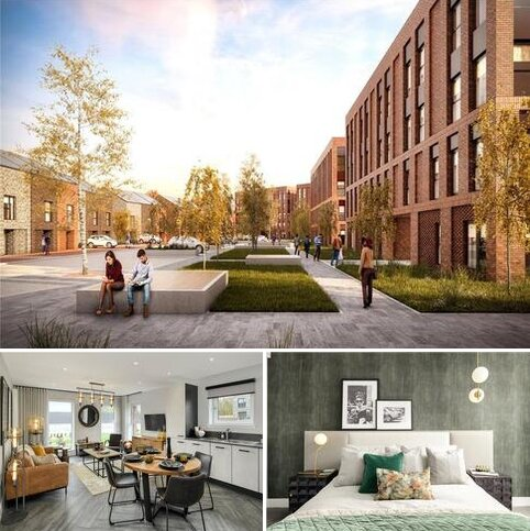 3 bedroom apartment for sale - Plot 6 - Prince's Quay, Pacific Drive, Glasgow, G51