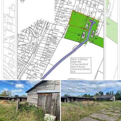 Land for sale - Plot B - Land to the south of Rowley Lane
