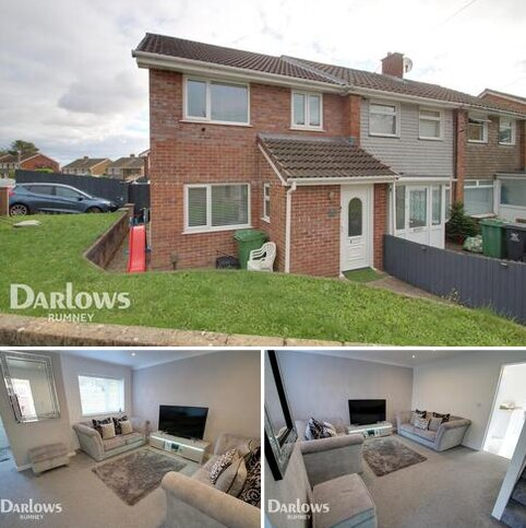 3 bedroom end of terrace house for sale - Witla Court Road, Cardiff