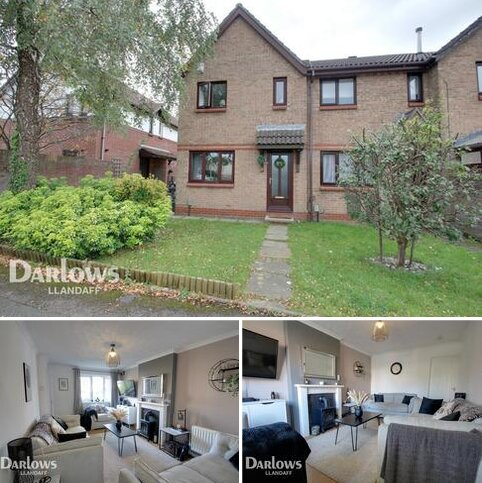 3 bedroom end of terrace house for sale - Kenley Close, Cardiff