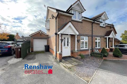 2 bedroom semi-detached house for sale - Broughton Close, Shipley View, Derbyshire