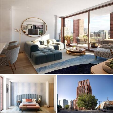 2 bedroom penthouse for sale - The Arc, 225 City Road, Shoreditch, London, EC1V