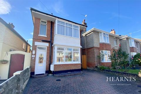3 bedroom detached house for sale - Queen Mary Avenue, Bournemouth, Dorset