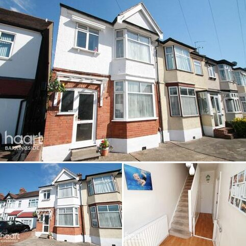 3 bedroom end of terrace house for sale - Fencepiece Road, Hainault