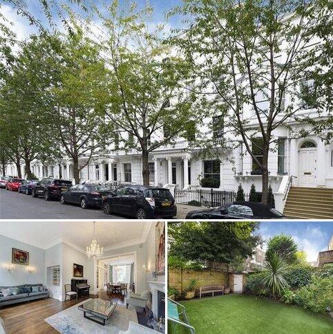 5 bedroom semi-detached house for sale - Brunswick Gardens, London, W8