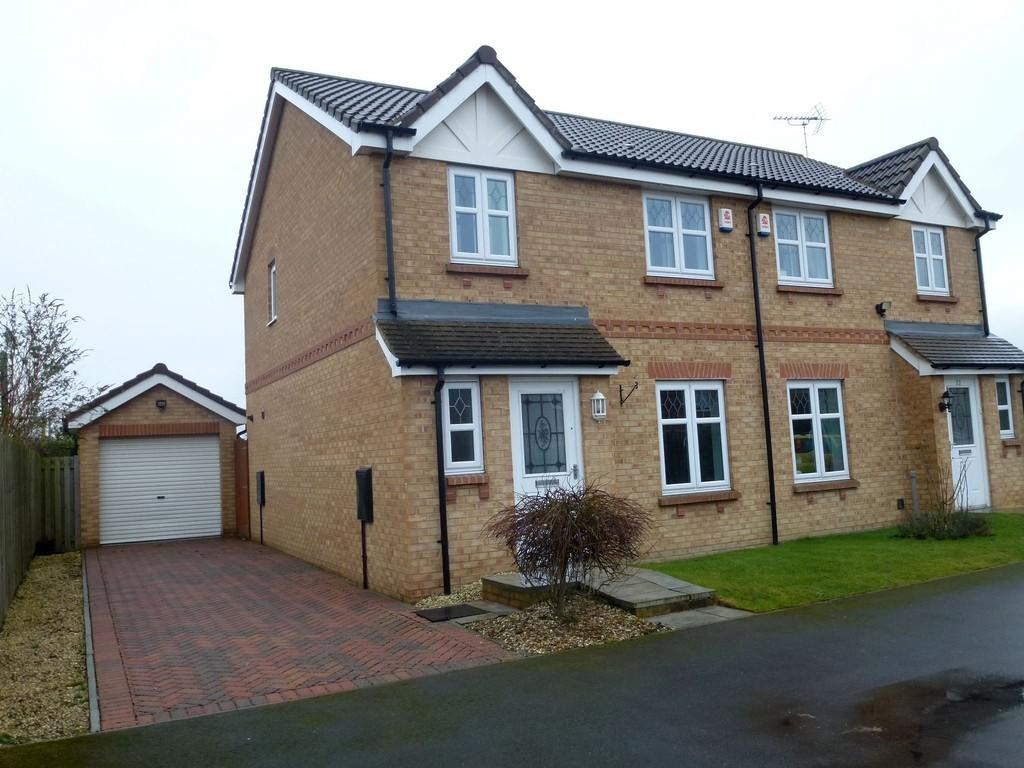 3 Bedrooms Semi Detached House for sale in Willow Avenue, Ranskill, Retford, DN22 8LB