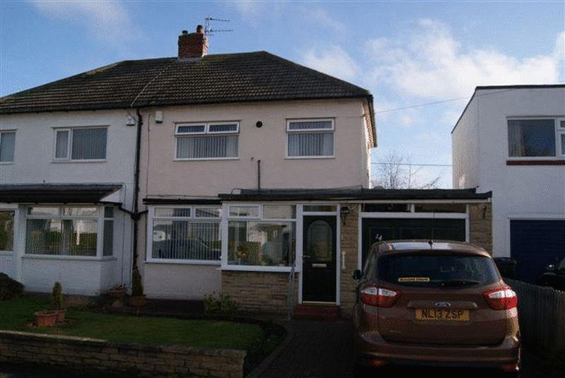 3 Bedrooms Semi Detached House for sale in Reynolds Avenue, West Moor, Newcastle Upon Tyne