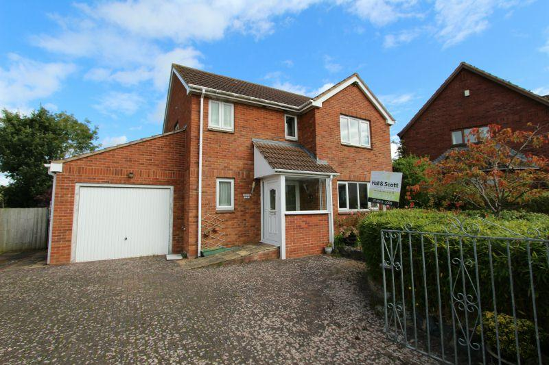 4 Bedrooms Detached House for sale in CHURCH ROAD, WHIMPLE