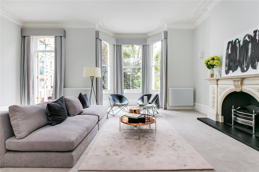3 Bedrooms Flat for sale in Lexham Gardens, Kensington, London