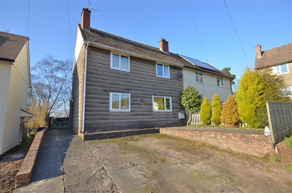 3 Bedrooms Semi Detached House for sale in Woodland View, Monmouth, Monmouthshire