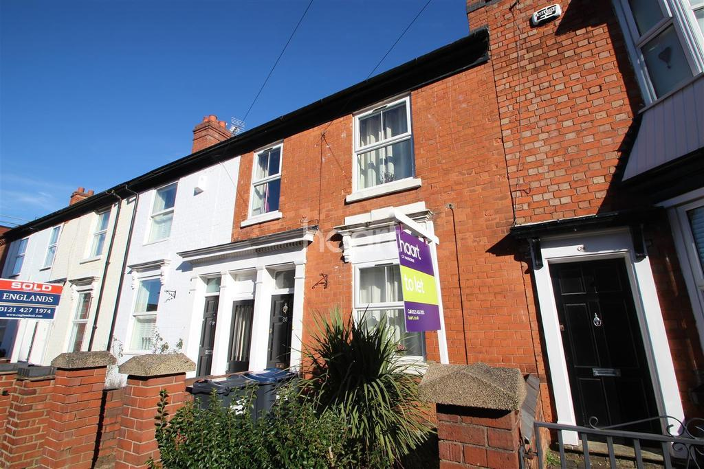 3 Bedrooms Terraced House for rent in South Street, Harborne