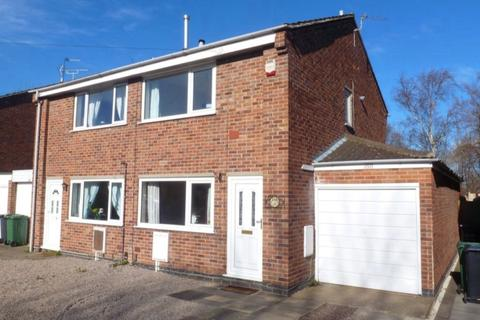 2 bedroom semi-detached house to rent - BRADDON ROAD LOUGHBOROUGH LEICESTERSHIRE
