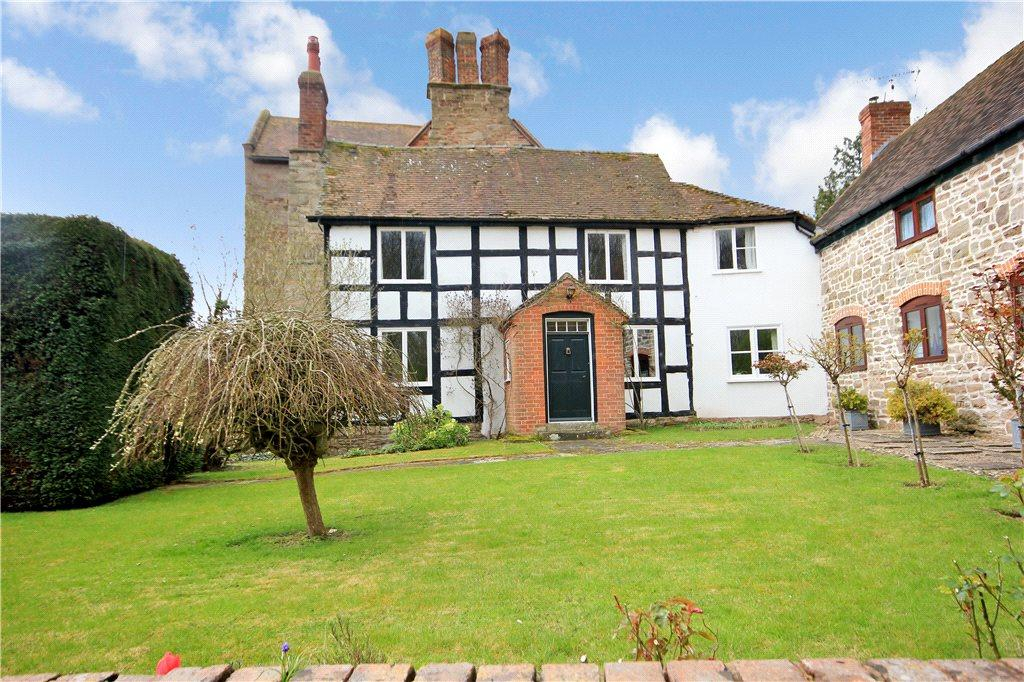 3 Bedrooms Barn Conversion Character Property for sale in Weston Beggard, Hereford, Herefordshire, HR1