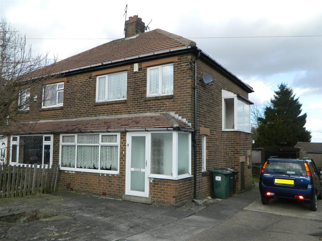 3 Bedrooms Semi Detached House for sale in Tanner Hill Road, Horton Bank Top, Bradford, BD7 4BQ