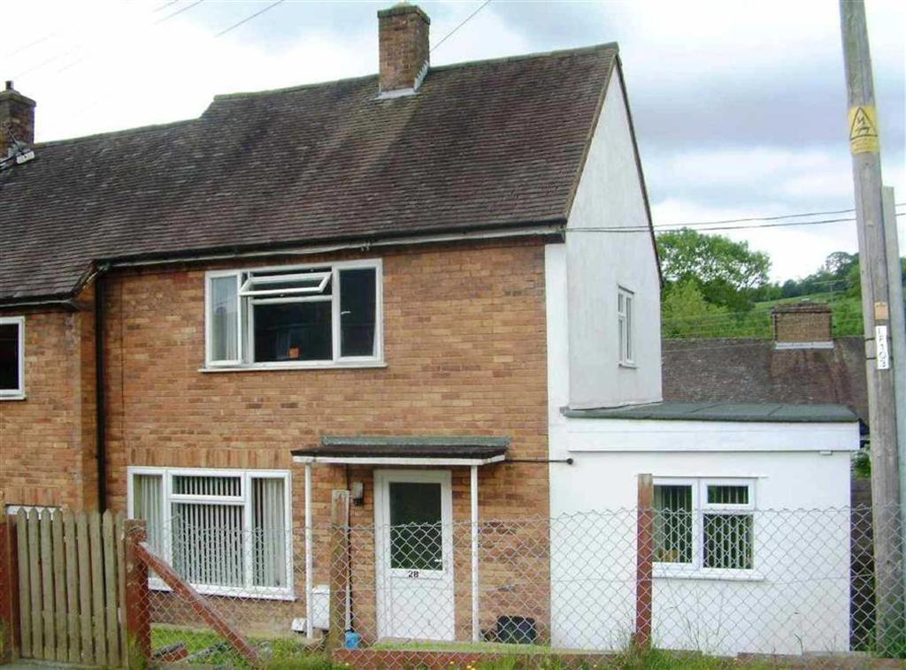 2 Bedrooms Terraced House for sale in Bron Y Gaer, Llanfyllin, Llanfyllin
