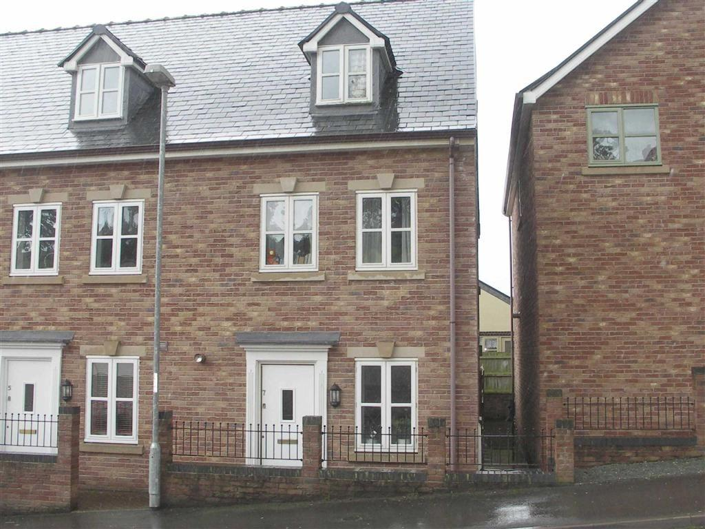 3 Bedrooms Terraced House for sale in Ffordd Spoonley, Llansantffraid, Llansantffraid