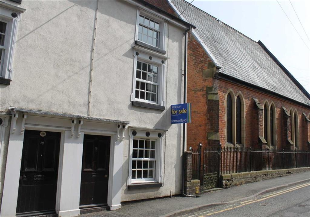 3 Bedrooms Semi Detached House for sale in Market Street, Llanfyllin, Llanfyllin