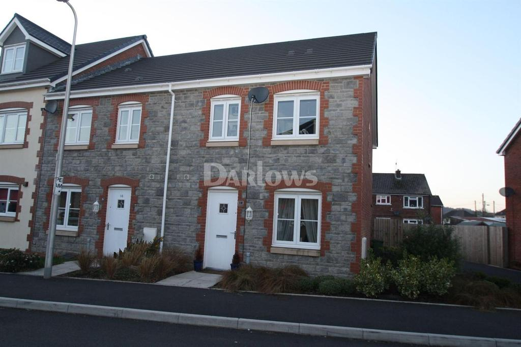 3 Bedrooms End Of Terrace House for sale in Heol Gruffydd, Pontypridd