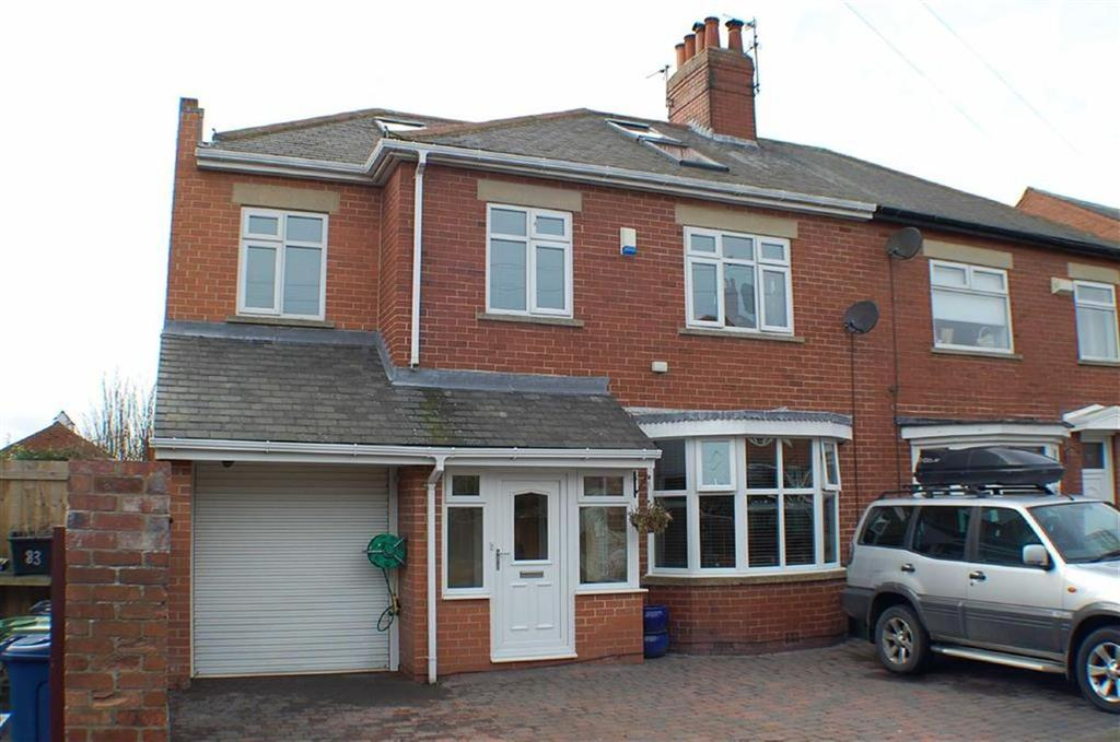 5 Bedrooms Semi Detached House for sale in Hotspur Avenue, South Shields