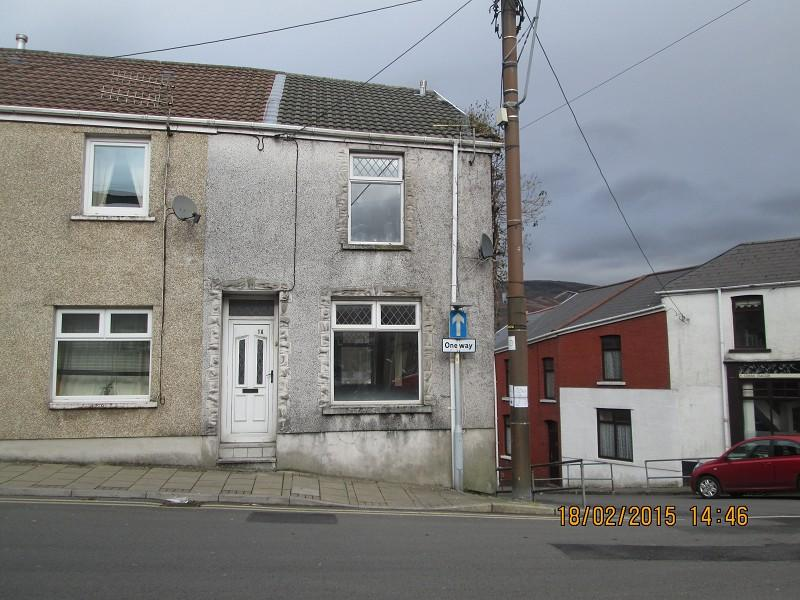 2 Bedrooms Terraced House for sale in 1a St. Michaels Road, Maesteg, Bridgend. CF34 9PA
