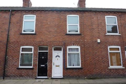 2 bedroom terraced house to rent - BRUNSWICK STREET, SOUTH BANK, YORK, YO23 1EB