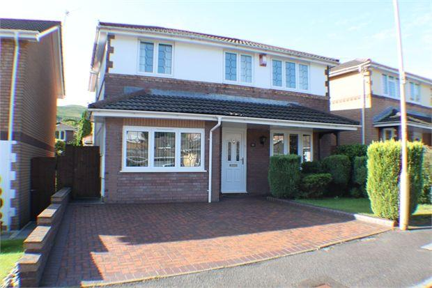 4 Bedrooms Detached House for sale in Dinam Park, Ton Pentre, Ton Pentre, Rhondda Cynon Taff. CF41 7DY