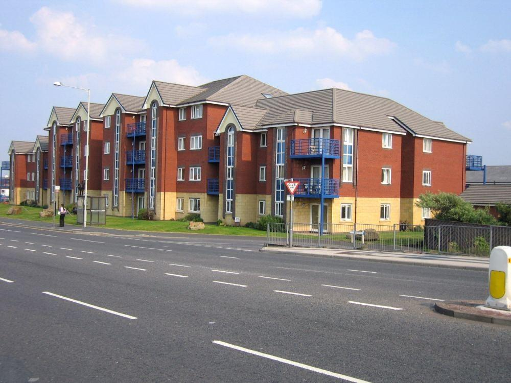 2 Bedrooms Flat for sale in Ensign Court, Westgate Road, South Shore, Blackpool, Lancashire