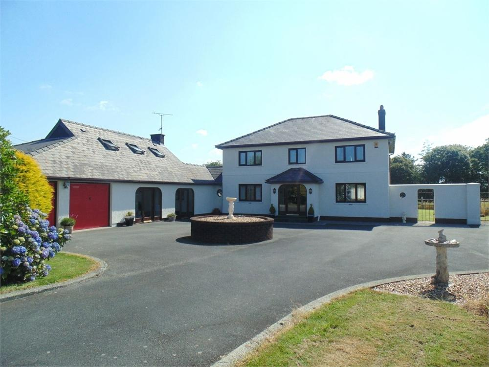 6 Bedrooms Detached House for sale in Bracknell Lodge, Targate Road, Freystrop, Haverfordwest, Pembrokeshire
