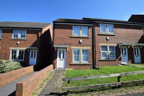 3 bedroom end of terrace house to rent - The Ridings, Catchgate, Stanley