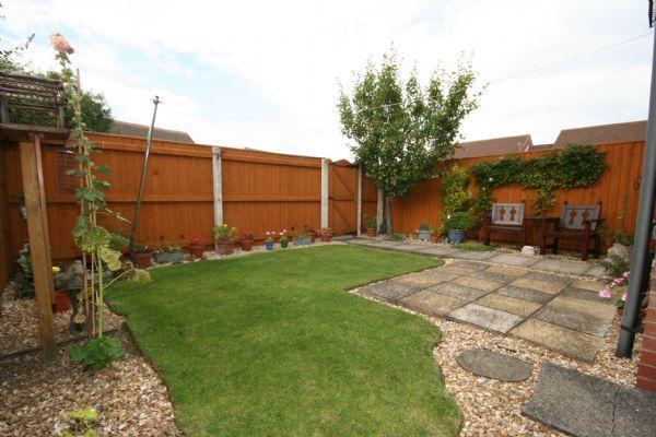 Rear garden (view 1)