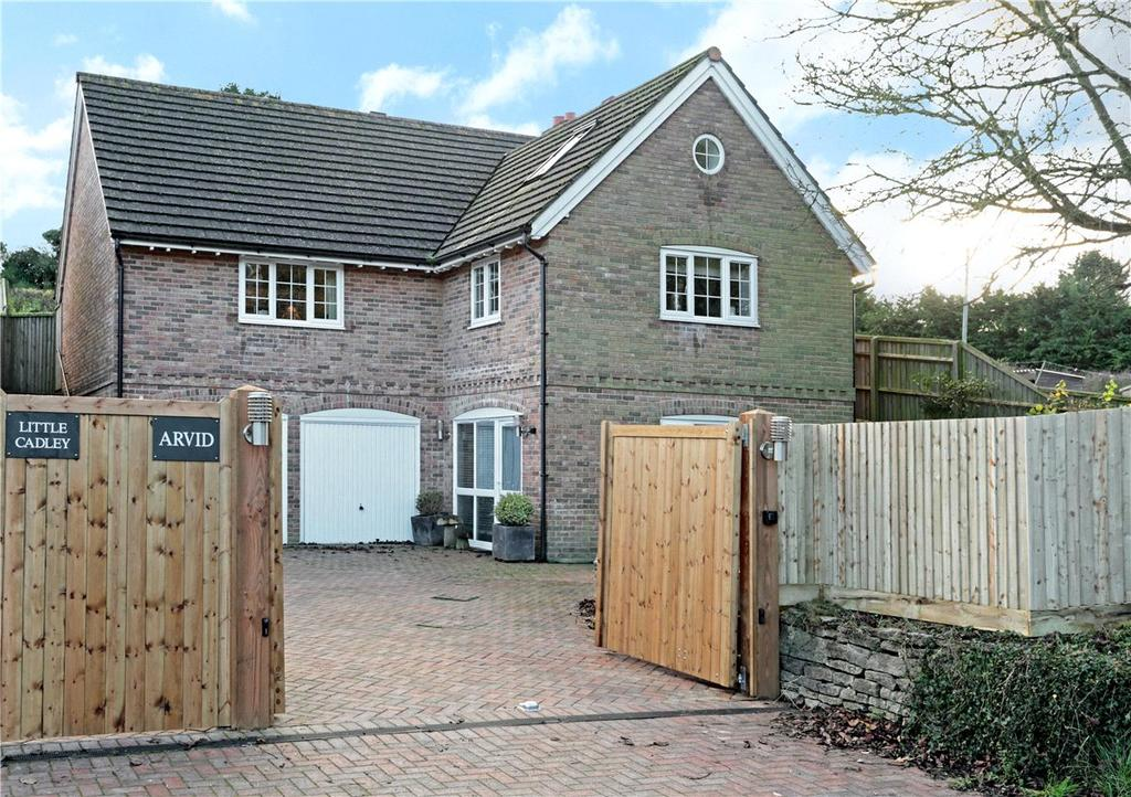 4 Bedrooms Detached House for sale in Cadley Road, Collingbourne Ducis, Marlborough, Wiltshire, SN8