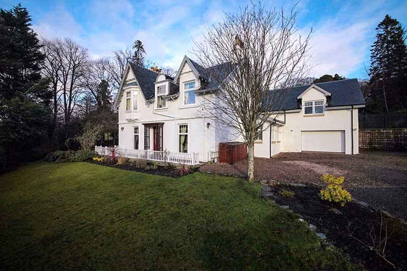5 Bedrooms Detached House for sale in Chapelburn, Shandon, Helensburgh, G84