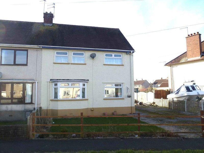 3 Bedrooms Semi Detached House for sale in Maesglas, Llandovery, Carmarthenshire.