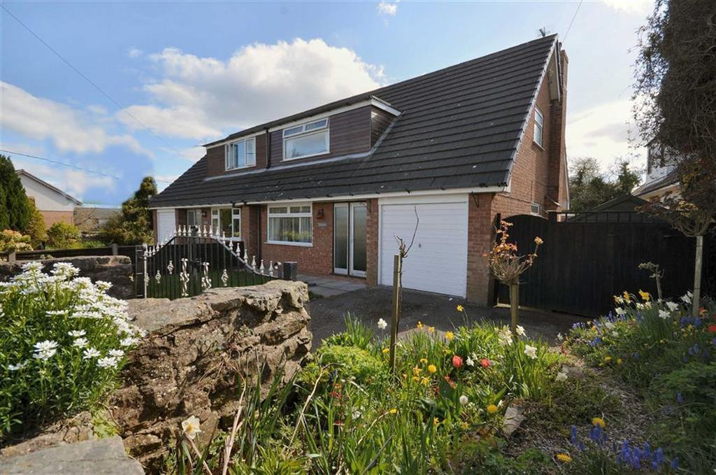 3 Bedrooms Semi Detached Bungalow for sale in Ffordd Y Llan, Treuddyn, Mold