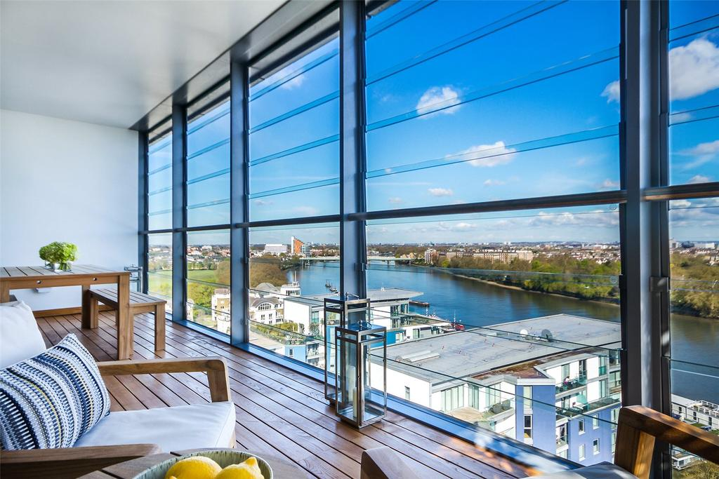 4 Bedrooms Penthouse Flat for sale in Three Riverside, Riverside Quarter, London, SW18