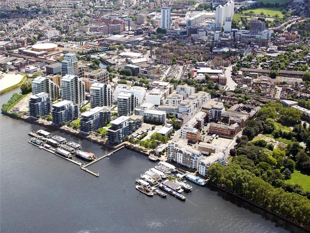 4 Bedrooms Penthouse Flat for sale in Riverside Quarter, Wandsworth, London, SW18