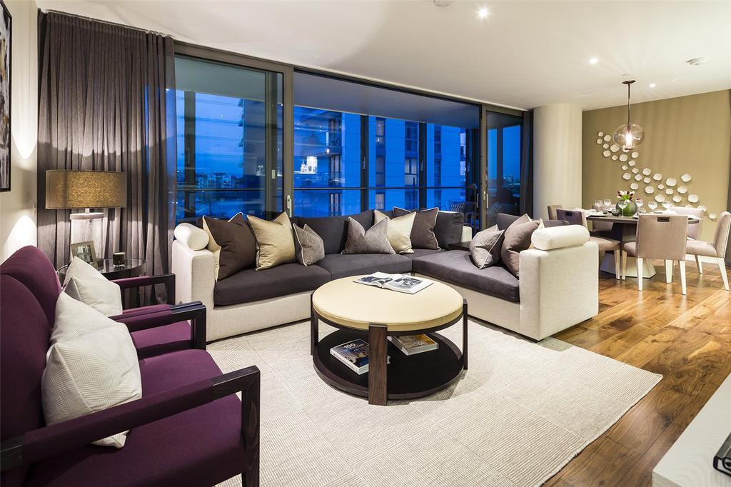4 Bedrooms Penthouse Flat for sale in Riverside Quarter, Wandsworth, London, SW18