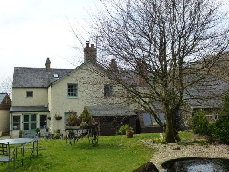 4 Bedrooms Semi Detached House for sale in Post Office, Crugybar, Llanwrda, Carmarthenshire.