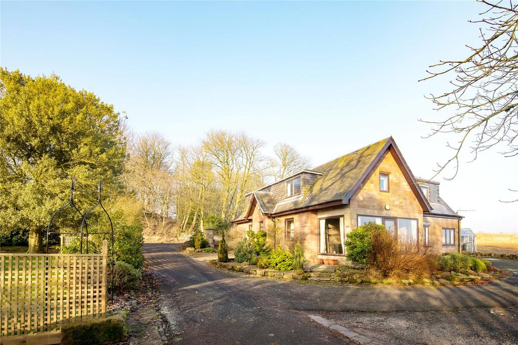 4 Bedrooms Detached House for sale in Maines North Lodge, Chirnside, Duns, Berwickshire, Scottish Borders