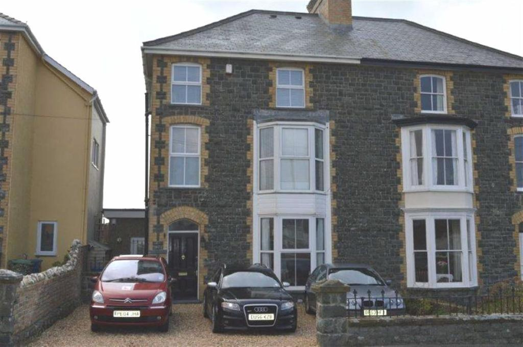 6 Bedrooms Semi Detached House for sale in Bron Y Garth, Pier Road, Tywyn, Gwynedd, LL36