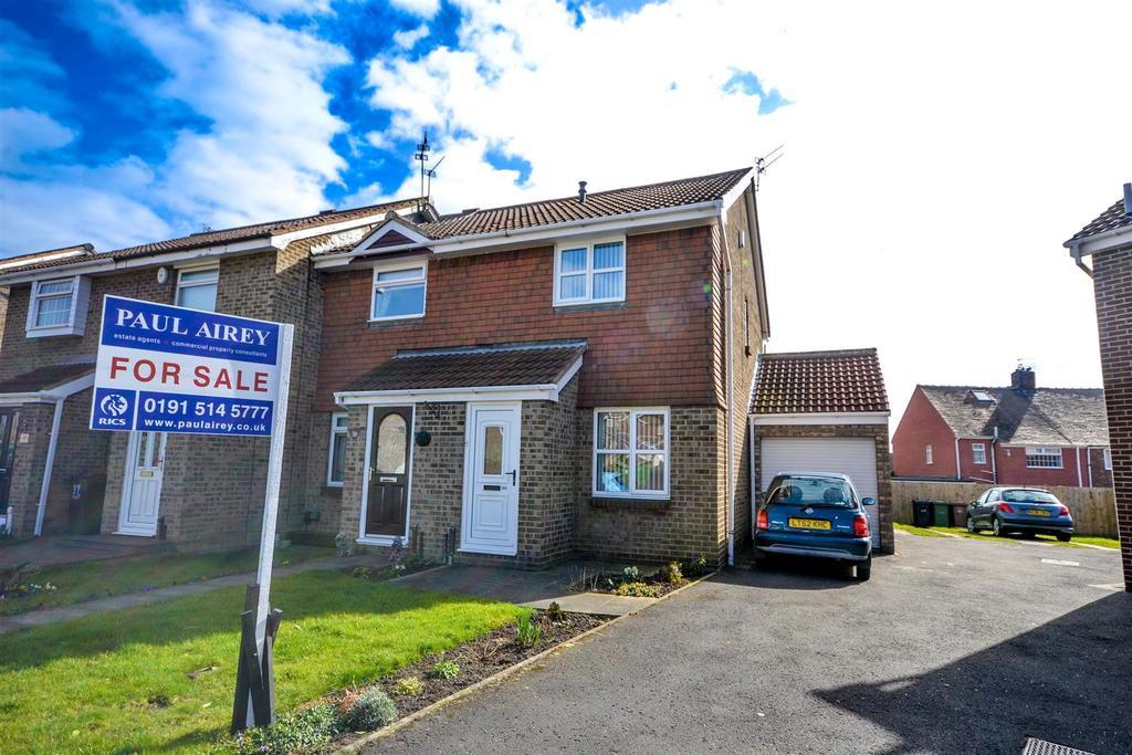 2 Bedrooms Semi Detached House for sale in Sunnybrow, Silksworth, Sunderland