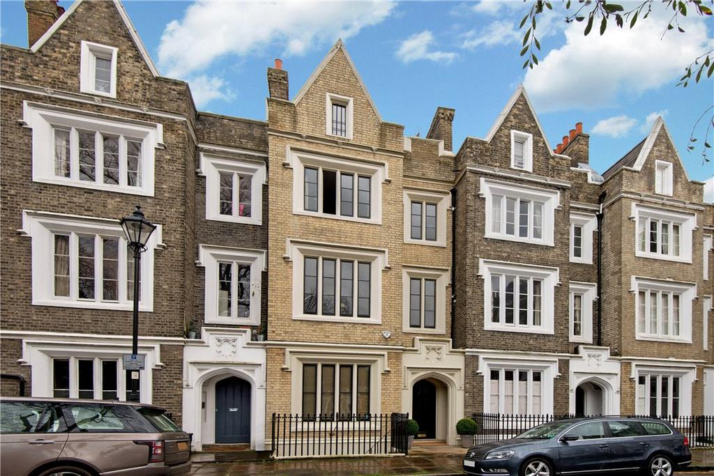 5 Bedrooms Terraced House for sale in Lonsdale Square, Islington, London, N1